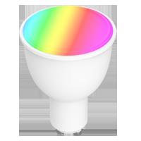 NVS-RGBWBULB-45GU10-W